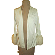 Disco Dancing Maribu Trim Jacket