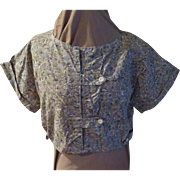 Tummy Barring Mid-rif Blouse