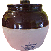 Robinson Ransbottom #2 Brown Pot with Lid
