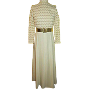 Shells Design 70's Maxi Dress