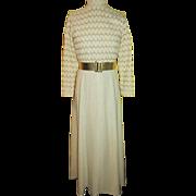 Shells Design 70's Maxi Dress