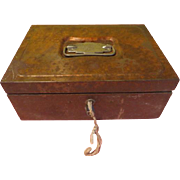 Coins in the Till Utilco Cash Box - b198