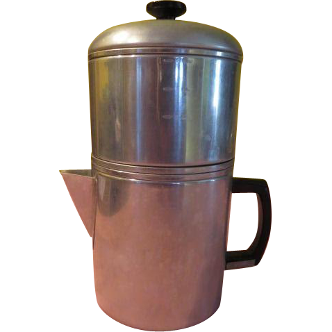 Enterprise Aluminum Drip-o-lator Coffee Pot - g