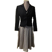 Perfect Polka Dot Shirtwaist Dress and Jacket
