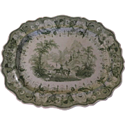 View from the River Yar Tuni Series Chetham & Robinson of Longton Extra Large Platter - b