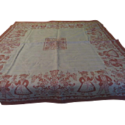 Charming Austrian couple Tablecloth with Tag - CL