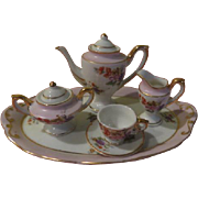 Tiny Tea for Me Miniature/doll house Pink Tea Set - b199