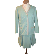 Spring time Robin Egg Blue #3-piece Suit