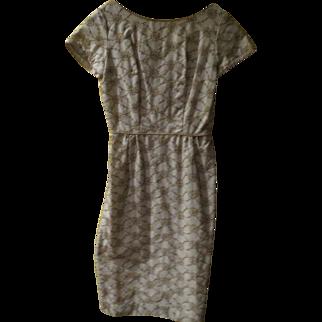 Oh La La Embroidered Wiggle Dress