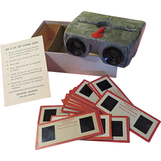 Colorama Shafer Studios Stereo Slide Viewer - b203