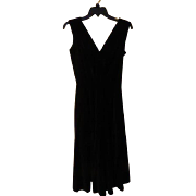 Night on the Town Velvet Dress