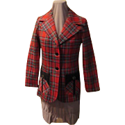 Jack Winter Red Plaid Jacket