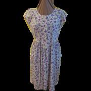 Violets Abloom Dress