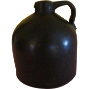 Little Brown jug Short beehive Moonshine Jug - b204
