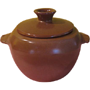 Frankoma Plainsman Covered Casserole 5WQ Cinnamon FG
