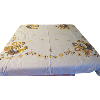 Proud Rooster Tablecloth