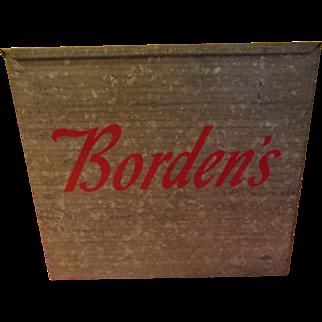 The Milkman Comeith Bordens Dairy Delivery Porch Milk Box - g