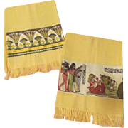 Walk Like an egyptian Themed Towels - L9