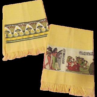 Walk Like an egyptian Themed Towels - L9