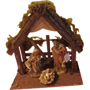 Large Italian Made Fontanini Nativity Set in Box