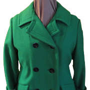 Wearing of the ... Kelly Green Amcoat Pea Coat