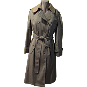 Spy Who Loved Me Trench Coat