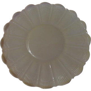 Cambridge Crown Tuscan Pink Shell Platter