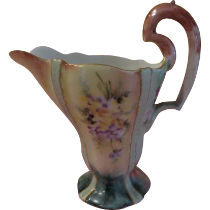 Mont Mery Theadore Haviland Creamer/pitcher - b197