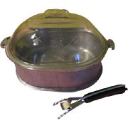 Guardian Service Roaster with Lid and Handle