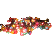 Tinsel Star Christmas Lights - b207