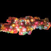 Tinsel Star Christmas Lights - b207