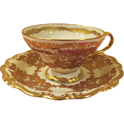 Rosenthal Selb Germany US Zone Demitasse Cup and Saucer - B202