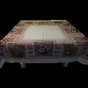 """""""California Hand Prints'' Tablecloth - L4"""