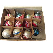 this and That Christmas Tree Ornaments in Box - b209