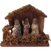Crackle Finish Figures Nativity Set - X-16-2