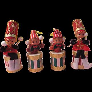 Pa Rum Pa Pa Rum Drummer Christmas Tree Ornaments - W-B