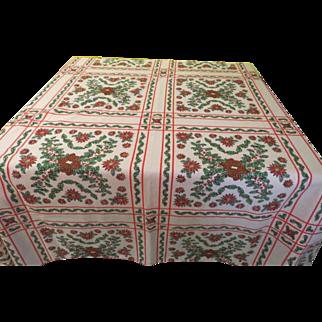 Christmas squared Tablecloth - b220