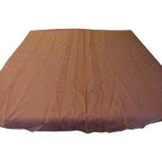 Woven Stripe Tablecloth - CL