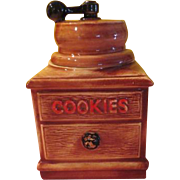 McCoy Coffee Grinder Cookie Jar