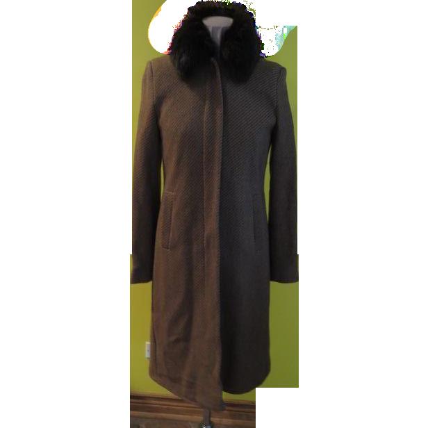 Fun Fur Stripe Coat