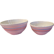 McCoy Pink Band Bowls - g