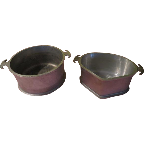Guardian Service Round and Triangle Pans - g
