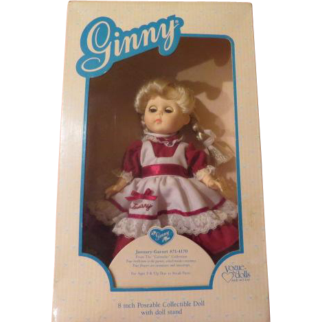 ''Ginny'' Vogue Dolls January Garnet 71-41-70 - b205