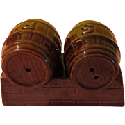 Roll out the Barrel Salt and Pepper Shakers - b210