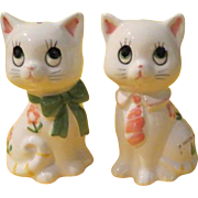 He and She Lefton Cat Salt and Pepper Shakers - b212