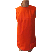 Outrageously Orange Mini-dress/tunic