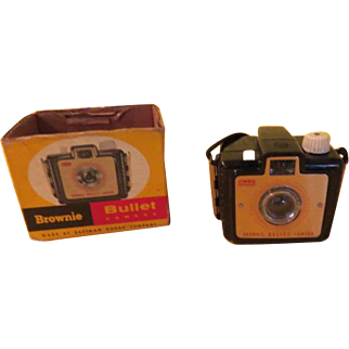 Kodak Brownie Bullet Camera in Box - b215