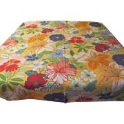 Tropical Hibiscus Tablecloth - L2
