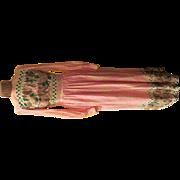 California Calliope Border Print Maxi-dress