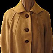 Morris B. Sach's Camel Coat